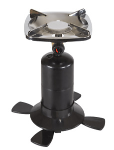 Single Portable Burner Cast Iron Propane Stove Outdoor Camping Cooker Stove