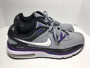 Nike Air Max Wright Mens Sneakers Size 13 Shoes 317551 055 EUC Grey Purple NICE $85.00