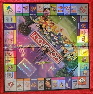 Pampered 2001 Monopoly DISNEY EDITION REPLACEMENT HOLOFOIL GAME BOARD w MANUAL. $12.99