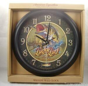 Lucky Lure Bait amp; Tackle Company 16quot; Wall Clock New In Box by American Expidetio