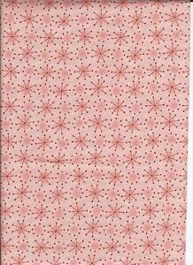 Moda Sandy Gervais Christmas Cotton Quilt Fabric Very Merry Snowflakes 1yd NEW $8.75