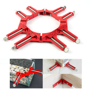 4pcs 90 Degree Right Angle Clip Clamps Frame Corner Holder Woodworking Hand DIY $12.87