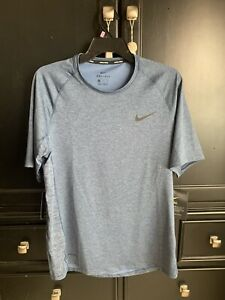 New with Tags Blue Nike Pro Dry Fit Shirt Size Large $14.99