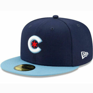 Chicago Cubs City Connect Cap Hat 59FIFTY Fitted Wrigleyville Fathers Day XSize $79.99