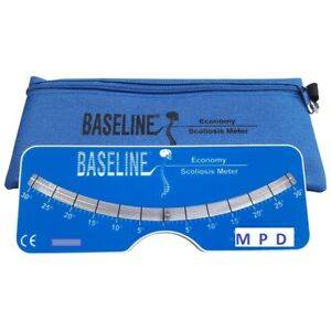 NEW Baseline Scoliosis Meter Professional Scoliometer with Storage Case NIB $39.70