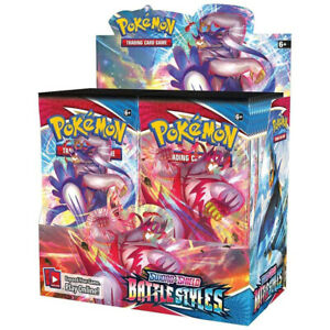 Battle Styles Pokemon Booster Box Sealed 36 Packs sealed in stock new cards tcg $84.90