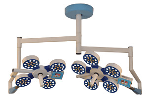 Medilux 4x4 Ceiling Surgical Operating Light LED Double Dome Intensity Control $3998.00