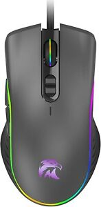 Silent Wired Computer Mouse with DPI Change Button for Laptop PC Gamming