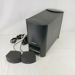 Bose CineMate Digital Home Theater Speaker System Sub amp; Speakers Only UNTESTED $49.99