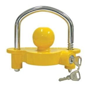One Universal Trailer Lock Coupler Lock for Boat Trailers Motorcycle Trailers