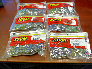 New Zoom 6quot; Soft Lizard Lure Cotton Candy Chartreuse 6 PACKS 54 total 002 024