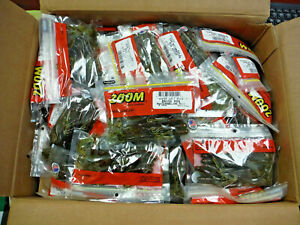 Case of 50 Packs Zoom Brush Hog 6quot; Soft Creature Lure WATERMELON RED 400 Total