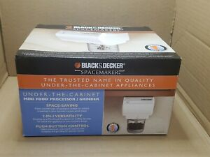BLACKDECKER CG800 Spacemaker Mini Food Processor and Grinder Under the Counter