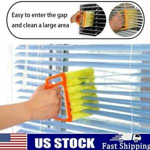 7 Finger Dusting Cleaner Tool Useful Microfiber Window brush air Conditioner HOT