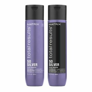 Matrix Total Results So Silver Color Obsessed Shampoo amp; Conditioner 10.1 oz Duo