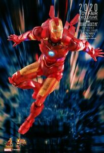 Iron Man Mark IV Holographic Version MM 1 6 Scale Hot Toys Exclusive Figure