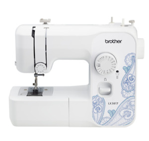 Brother LX3817 17 Stitch Portable Full Size Sewing Machine White $75.99