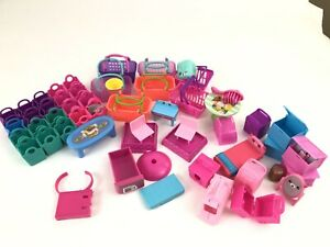 Moose Shopkins Lot 50 Figures Toys Accessories Grocery Furniture Pet Care