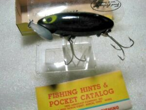 Fred Arbogast Jitterbug Topwater Lure Lures NIB With Paper Catalog
