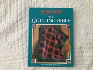 VTG 1997 Singer Sewing Reference Library The Quilting Bible Paperback $9.99