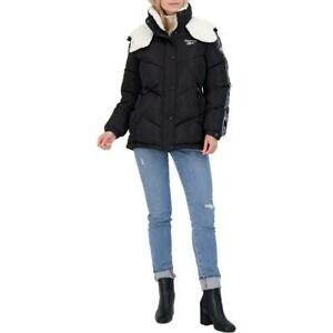 Reebok Women#x27;s Quilted Winter Puffer Coat with Faux Fur Lined Hood $33.29