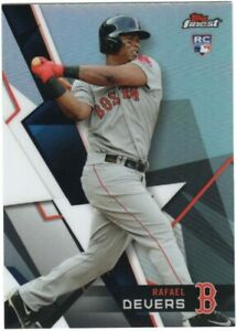Rafael Devers 2018 Topps Finest Rookie Card Boston Red Sox RC $3.99