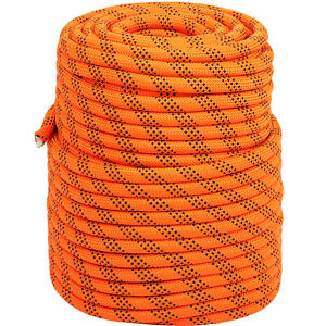 Double Braid Polyester Rope Rigging Rope High Breaking Strength 100 150 200FT