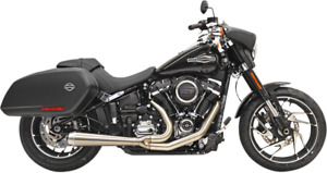 Bassani Road Rage Stainless Motorcycle Exhaust 18 21 Harley Softail Sport Glide $979.95