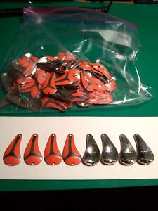 Fishing Lure Parts Vintage NOS Qty 35 Per Package Brass Finish