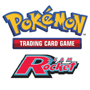 Pokemon Cards Team Rocket Set Choose a Card to Complete your Collection $1.19
