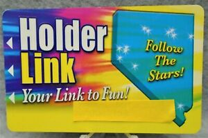 Vintage Holder Link Casino#x27;s in Nevada Players Club Card quot;Your Link to Fun quot; $3.99