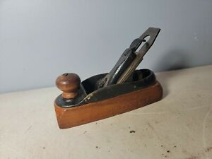 Antique Stanley No 21 pre lateral adjustment smooth Transitional 7quot; see pics $99.00
