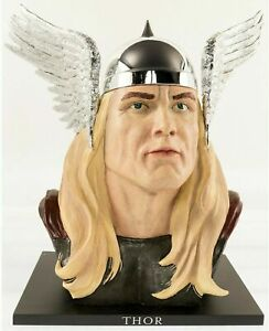 UPPER DECK LIFE SIZE THOR BUST STATUE MARVEL AVENGERS ALEX ROSS LIMITED 229 440 $289.99