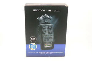 Zoom H6 Handy Recorder with X Y Mic Capsule