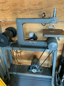 Rockwell Delta 40 102 Scroll Saw with Craftsman Grinder attached $450.00