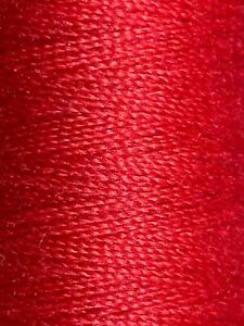 Red Gutermann Polyester Thread 110 Yards Germany Color 156 CA 02776 $4.00