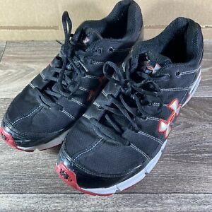 Under Armour Shoes Mens 11 Black Red 1210264 061 YYII S1 $4.00