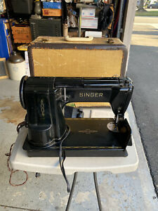 Singer Black 301A Sewing Machine Slant Needle Heavy Duty With Pedal $399.99