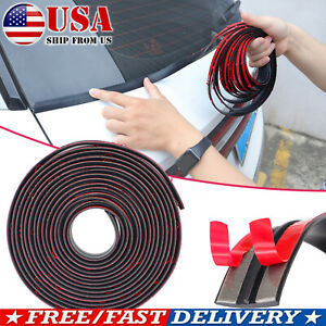 2M Car Windshield Roof Seal Noise Insulation Rubber Strip Sticker Accessories US $8.59