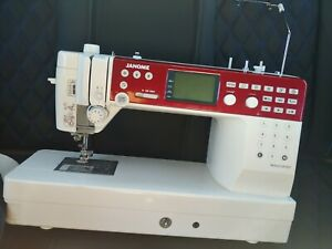 janome memory craft 6650 sewing amp; quilting $700.00