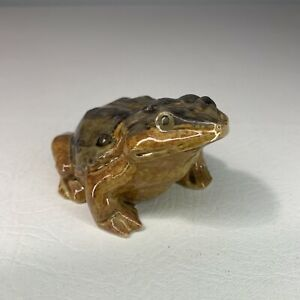 Vintage ARTMARK Ceramic Realistic Frog Toad Hand Painted made in japan