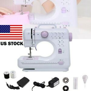 Sewing Machine Portable Electric Crafting Mending Machine 12 Built In Stitches $40.79