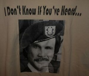 T SHIRT US ARMY SPECIAL FORCES TF ERB CAMP DUBLIN BAGHDAD LARGE UNWORN $10.00