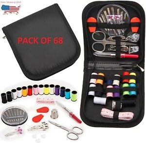 Sewing Kit Sewing Kits for Adults68Pcs Thread for Sewing Sew Kit for Home $11.99