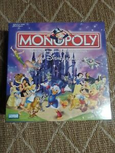 Disney Edition Monopoly 2001 Parker Brothers HasbroBoard game pre owned $40.00