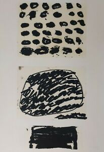 Jannis Kounellis hand signed and numbered serigraph $600.00