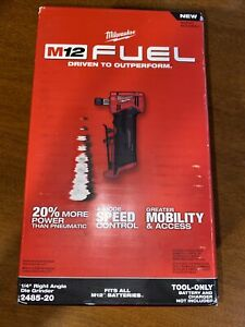 Milwaukee 2485 20 M12 FUEL 1 4quot; Right Angle Die Grinder Tool Only $129.99