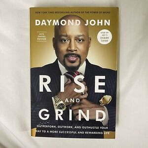Rise and Grind: by Daymond John Signed Very Good Condition Free Shipping $14.99