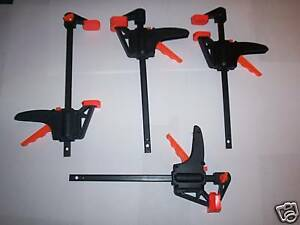 4pc 7 1 2 QUICK RATCHETING BAR CLAMP SPREADERS 4 JAW $16.99