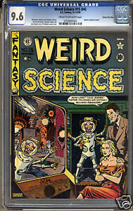 Weird Science #15 (#4)  CGC 9.6 NM+ Universal CGC #0750097004